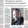 Olivier Nyirubugara's interview with Dutch daily Trouw